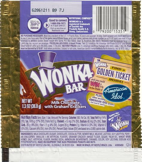 willy wonka bar wrapper template bar sayings just b cause