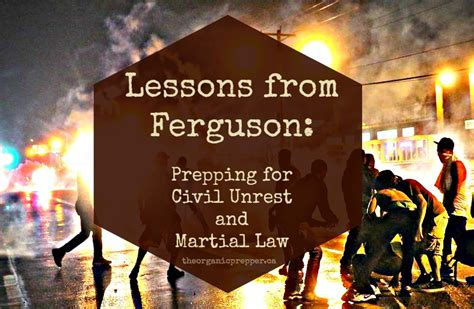 survival guide martial 25 survival lessons on how to survive a complete government and takeover in your city books lessons from ferguson prepping for civil unrest and