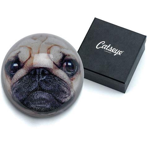 pug keeps paws catseye pug paperweight plushpaws co uk