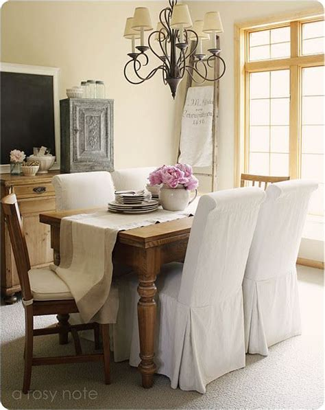 white parsons chairs farmhouse table interior inspiration beautiful dining rooms dining room dining