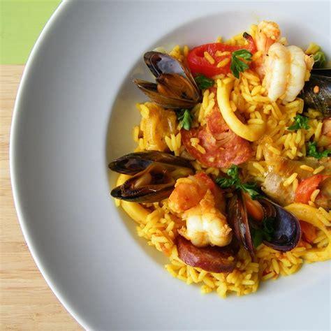 traditional recipes traditional paella recipe all recipes uk