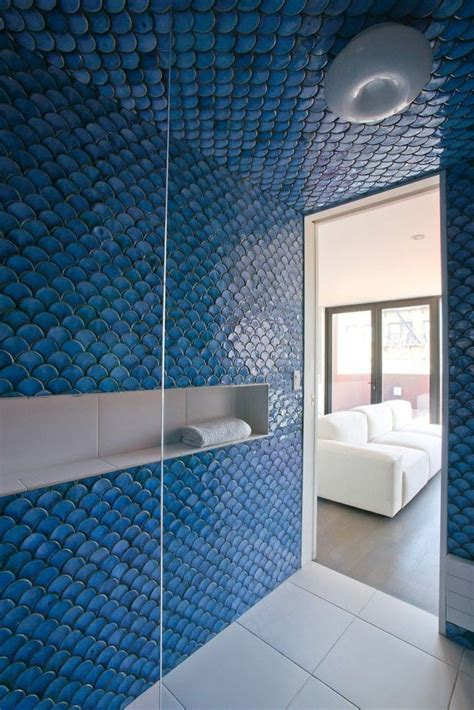 blue tile bathroom floor 35 cobalt blue bathroom tile ideas and pictures