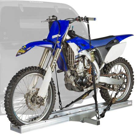 motocross bike rack aluminum motocross dirt bike hitch mounted carrier amc