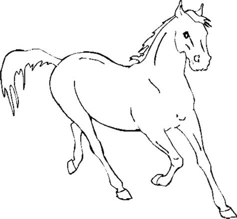 coloring pictures of horses running running fast in horses coloring page running