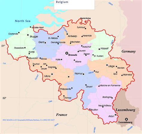belgium political map belgium political map mapsof net