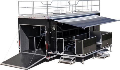 rugged cing trailer custom aluminum trailer intech custom all aluminum trailers
