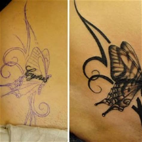 Butterfly Tattoo Cover Up Inspiration Tattoos Cover Up Inspiration