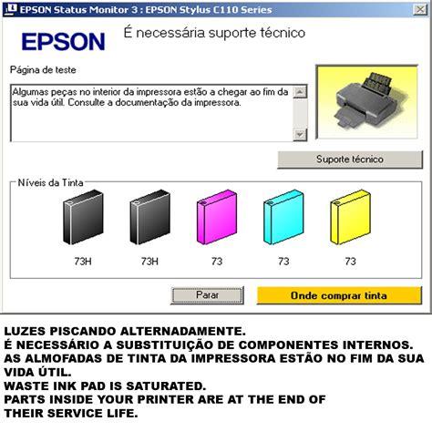 reset epson l300 tinta reset epson l110 l210 l300 l350 l355 contador almofada