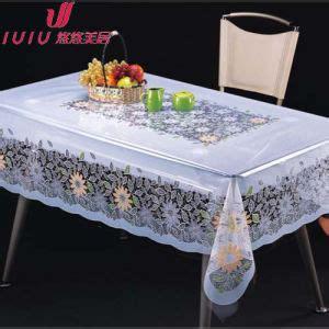 decorative l hs code china beautiful transparent decorative table cover china