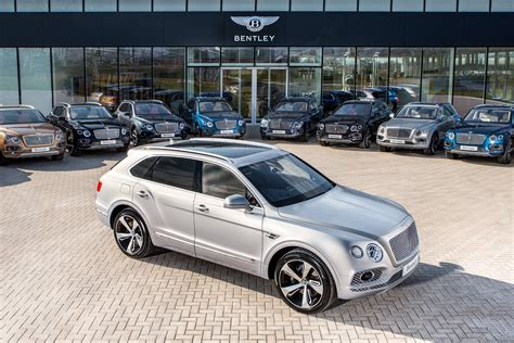 bentley bentayga silver new bentley bentayga first edition first exles