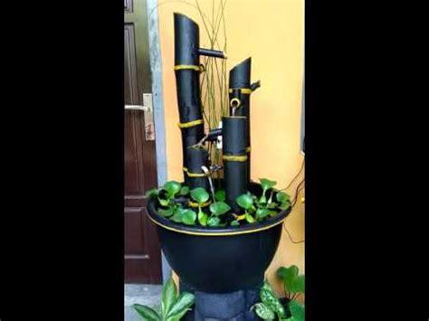 Air Mancur Mini Mini Landscape Model air terjun mini bambu