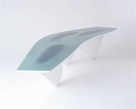 Aqua Table Zaha Hadid Architects Wood Furniture Biz Aqua Table
