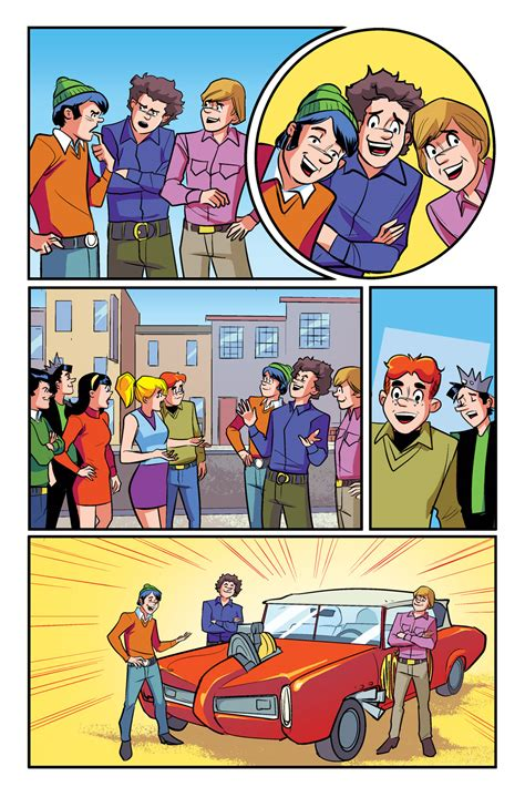 previews prevue vault s wasted space is full of previews prevue the archies 4 from archie comics
