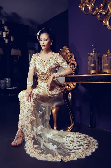 cj wedding dress jakarta kebaya semi kebaya modern 211 best images about fashion indonesia kebaya on