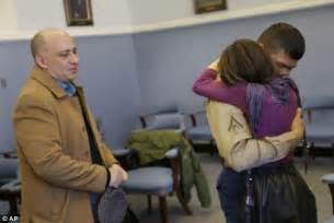 Marine adopted in christmas eve ceremony says his relationship with