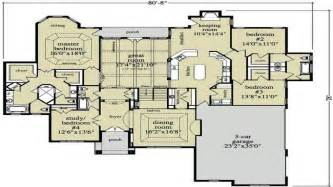 Open Floor Plan Ranch Style Homes by Open Ranch Style Home Floor Plan Luxury Ranch Style Home