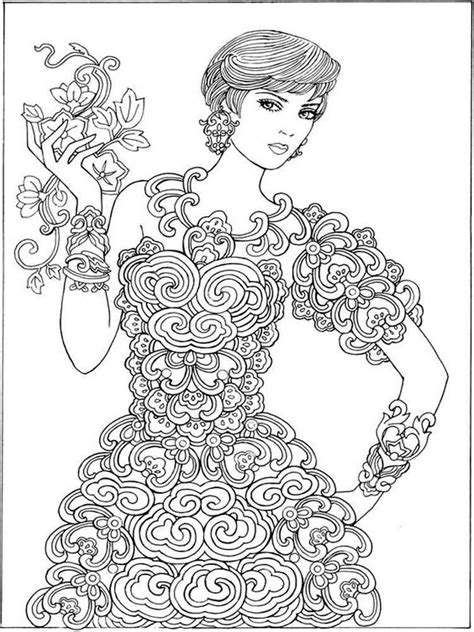 grown up pages easy coloring pages
