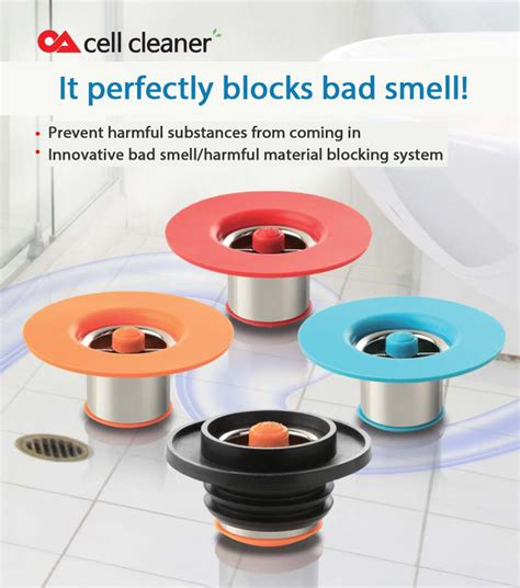bad smell from bathtub drain cell cleaner bathroom floor drain protector preventing bad smell and harmful