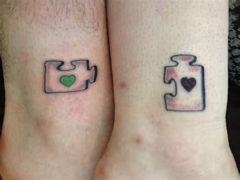 matching heart tattoos 31 beautiful matching tattoos for