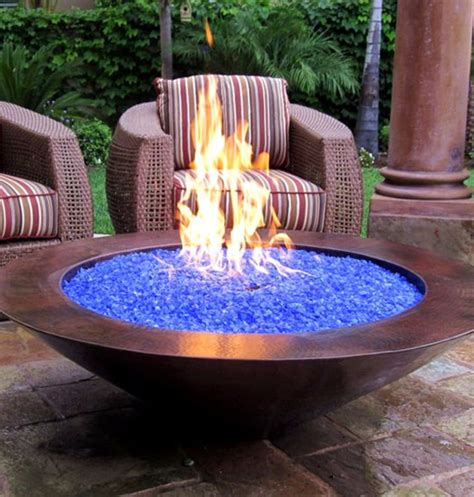 feuerschale mit glas backyard pit ideas and designs for your yard deck or