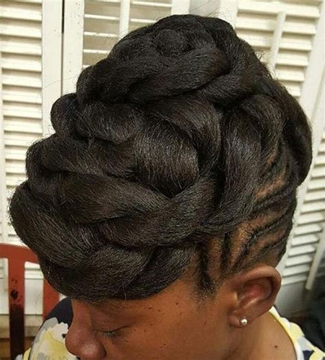 Twists Updo Hairstyles by 20 Flat Twist Hairstyles For This Year