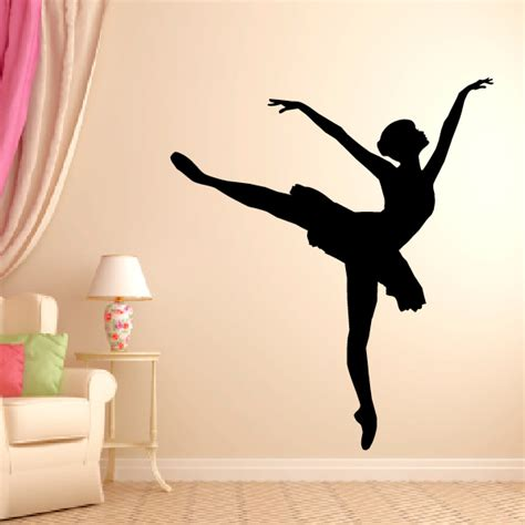 ballerina wall stickers ballerina wall decal style 2 wall decals