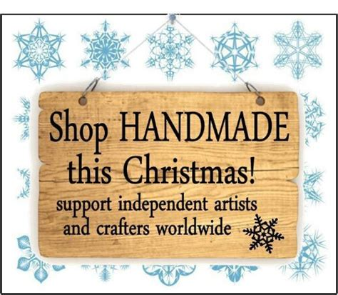 Shop Handmade - support small business this season the speckled