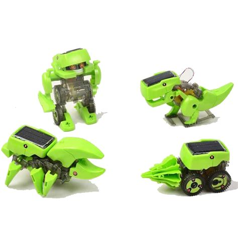 4 In 1 Transforming Solar Robot Science Education Diy Diskon 4 in 1 transforming solar robot science education diy