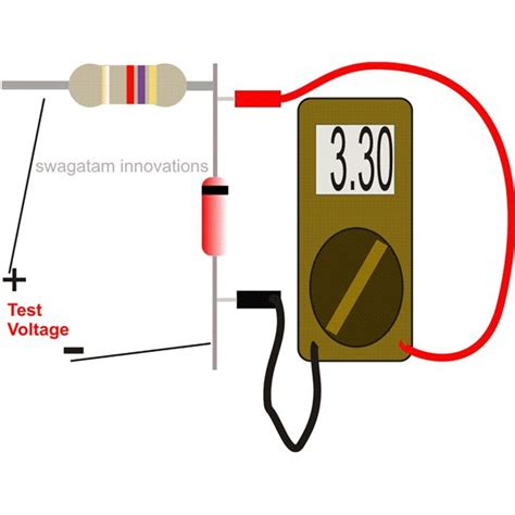 how to check a zener diode with digital multimeter how to upgrade and test zener circuits ways to counter zener instability and band gap