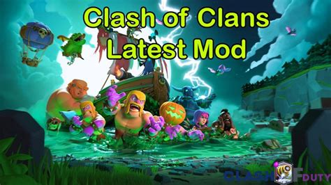 mod game clash of clan ios get clash of clans v 9 256 17 mod apk ipa android ios now