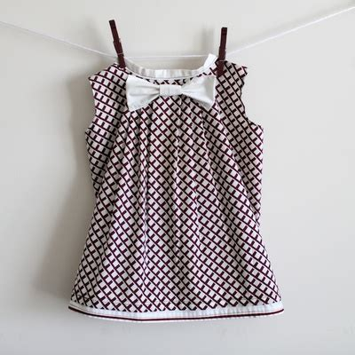 simple pattern for pillowcase dress pleated bow pillowcase dress allfreesewing com