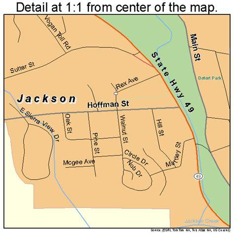 jackson california map jackson california map 0636980