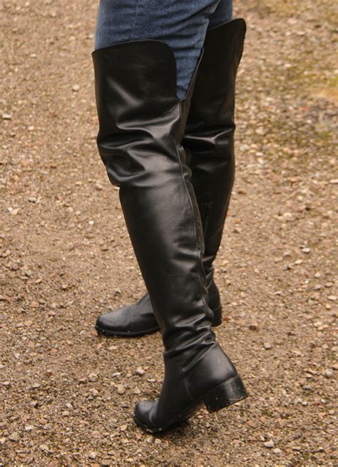file flat the knee boots for jpg wikimedia commons