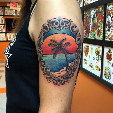 palm tattoo designs 120 best palm tree designs and meaning ideas of