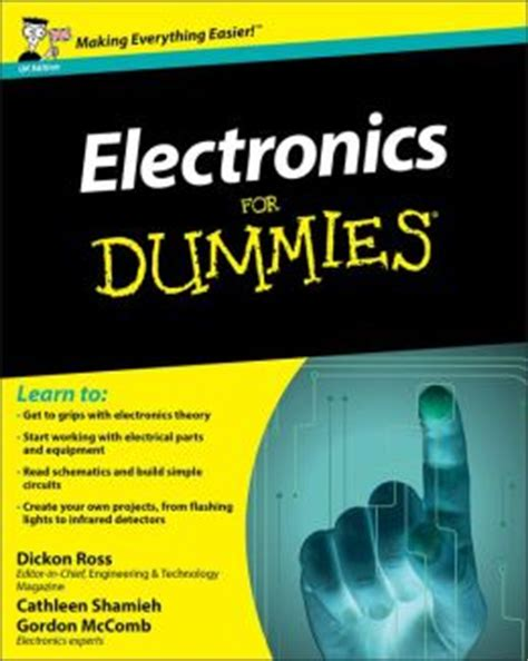 electronics for dummies by dickon ross 9780470663585