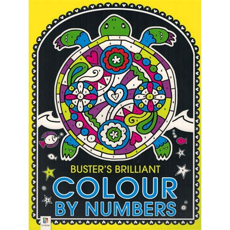 Hinkler Baby S Colours hinkler buster s brilliant colour by numbers babyonline