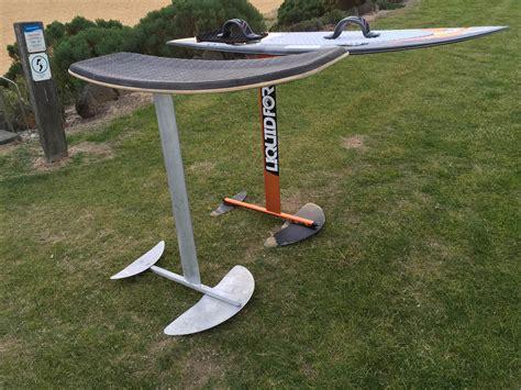 hydrofoil boat build custom hydrofoil build kitesurfing forums page 1