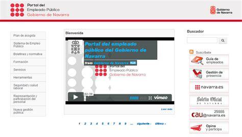 intranet interno el gobierno de navarra renueva su intranet un portal web