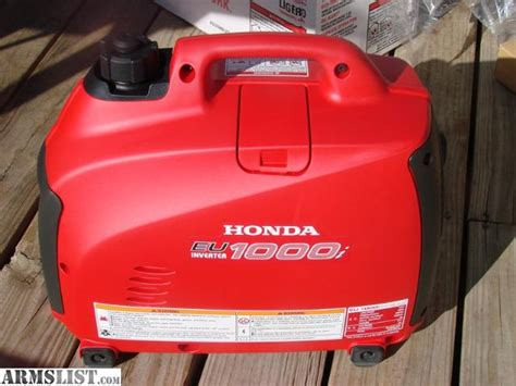 armslist for sale trade new honda eu1000i generator