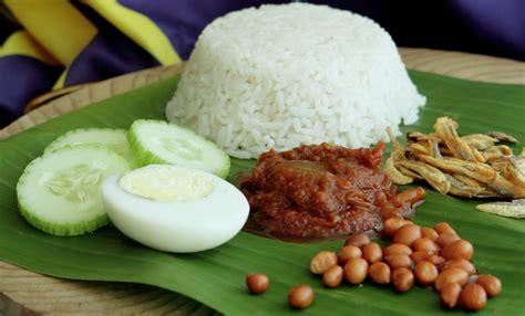 nasi lemak nasi lemak kuali