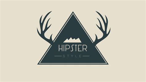 design a hipster logo design a wild hipster badge in photoshop youtube