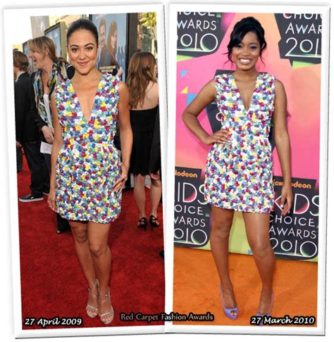 Who Wore Better Carpet Style Awards by Who Wore Adam Better Camille Guaty Or Keke Palmer