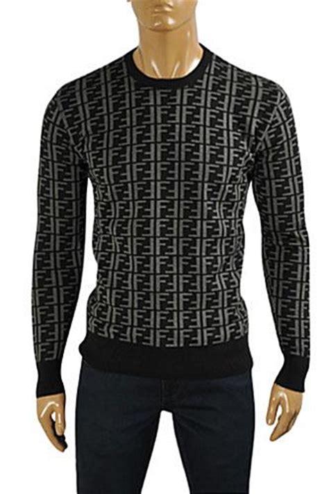 Fendi Sweater mens designer clothes fendi s neck sweater 12