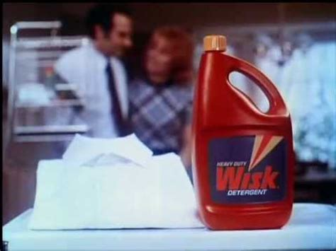 vintage   wisk laundry detergent soap ring   collar commercial youtube