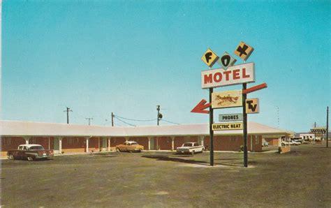 Bald Knob Arkansas Department by Run Fox Run Fox Motel Bald Knob Ar Historic Photo