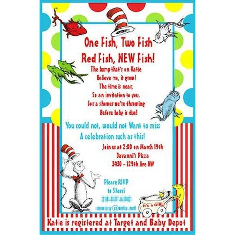 dr seuss baby shower invitation template custom dr seuss baby shower invitations printable free