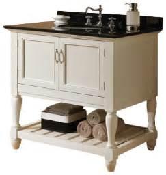 vevila white finish wood country style wash basin sink and