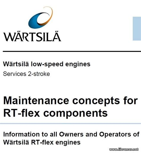 Service Letter Wartsila service and operation manuals diesel engines 10