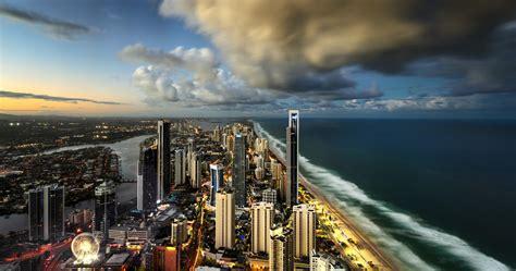 wallpaper retail gold coast surfers paradise city of gold coast 4k ultra hd wallpaper