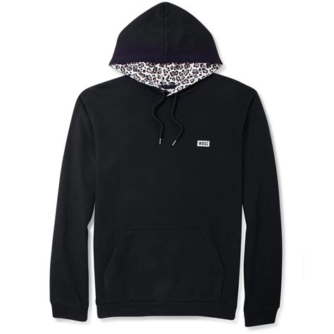 Hoodie I Spotted lyst wesc spotted in the pullover hoodie in black for